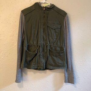 Express Army Green Jacket